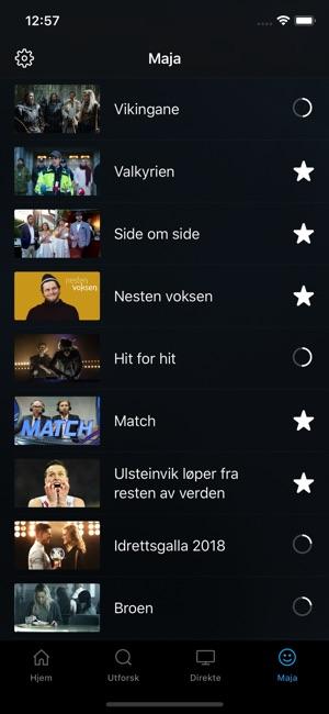 nrk nett tv offline