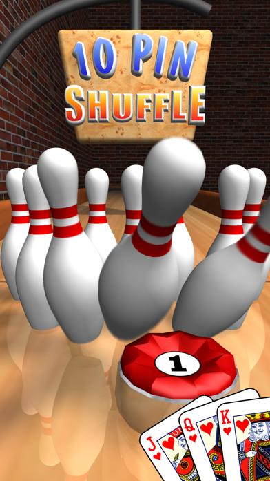 Screen Shot 10 Pin Shuffle Bowling 0