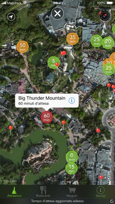 Screenshot of MagiPark per Disneyland Paris3