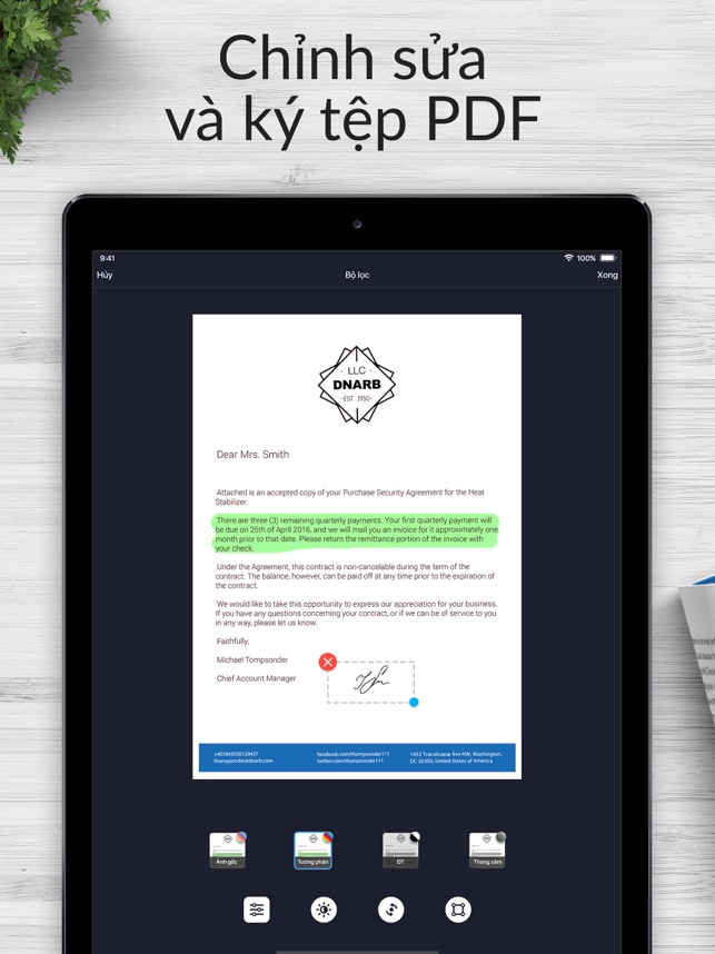 Scan Hero: Máy quét PDF