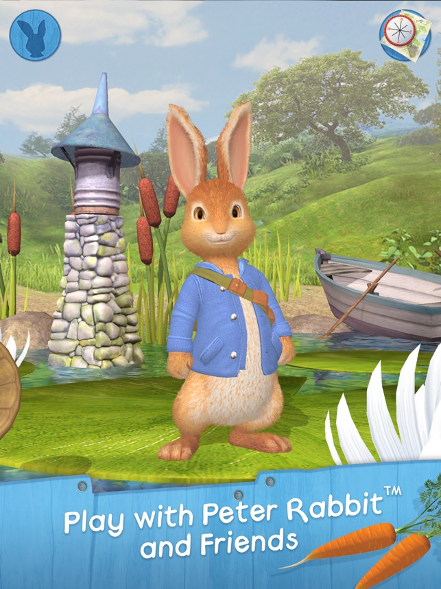 Peter Rabbit hops onto mobile in Peter Rabbit: Let's Go! Image