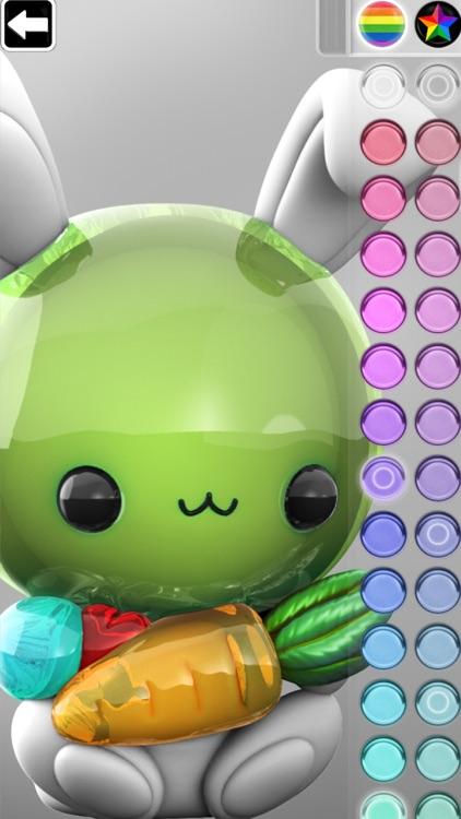 ColorMinis Kids -3D Color Book screenshot-4