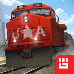 Ícone do app Train Simulator PRO 2018