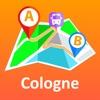 Cologne/Bonn offline map & nav