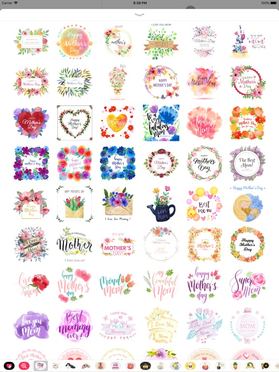 Watercolor Mother's Day Pack screenshot 8