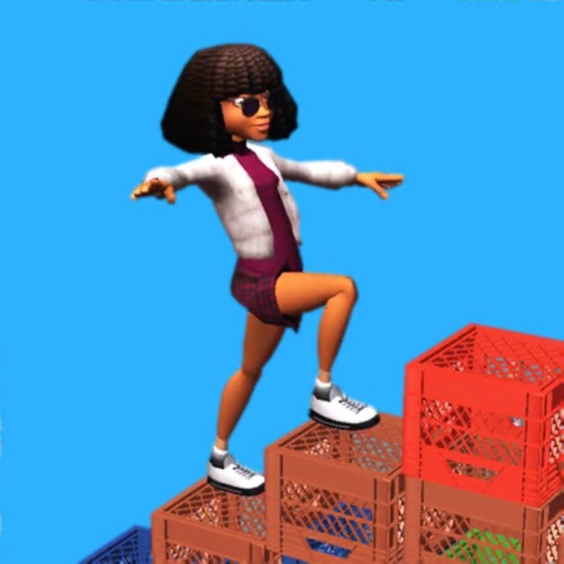 Milk Crate Challenge 3D free software for iPhone and iPad