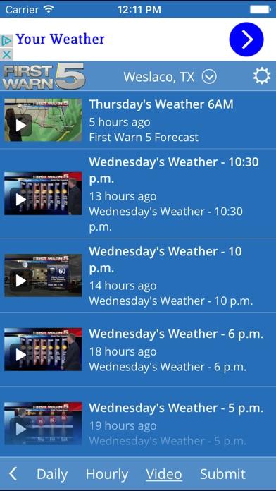 KRGV FIRST WARN 5 Weather for Windows