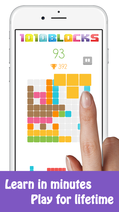 Block 1010 Puzzle Game screenshot 1