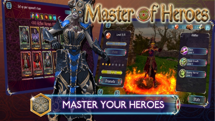 Master of Heroes: The League screenshot-0
