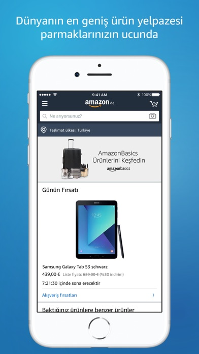 Screenshot for Amazon - Shopping made easy in Turkey App Store