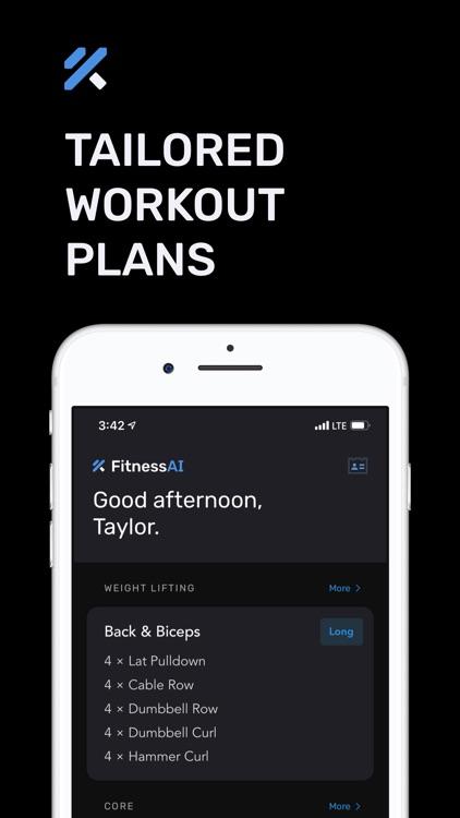 Personal Trainer – FitnessAI screenshot-5
