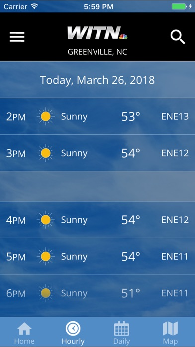 WITN Weather App for Windows