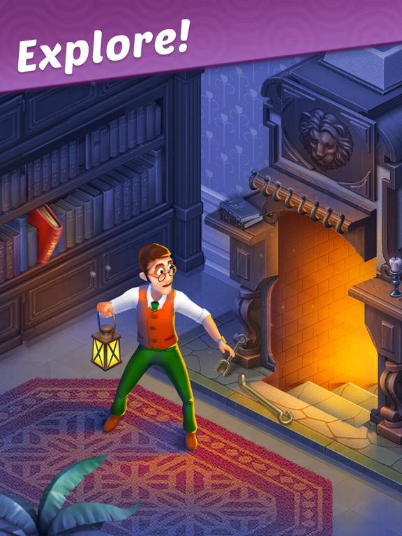 Manor Matters iPad app afbeelding 1
