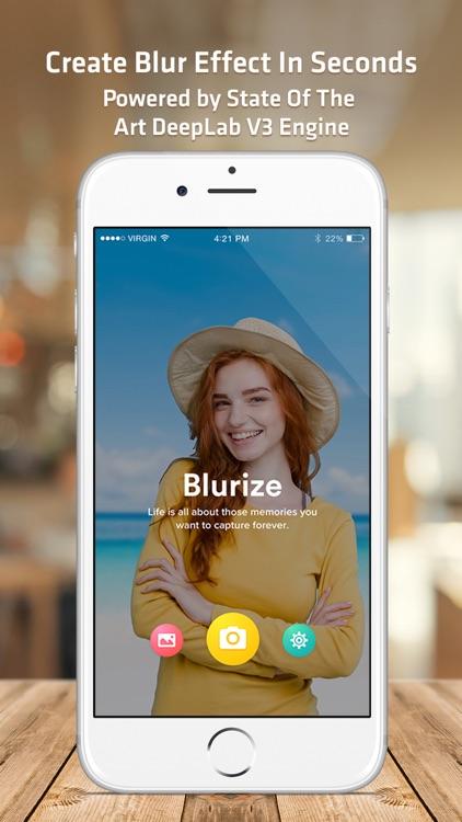 Blurize Pro:AI Portrait Camera screenshot-0