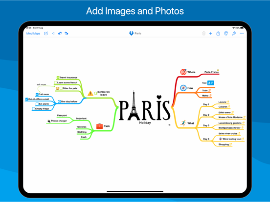 SimpleMind Pro - Mind Mapping Screenshots