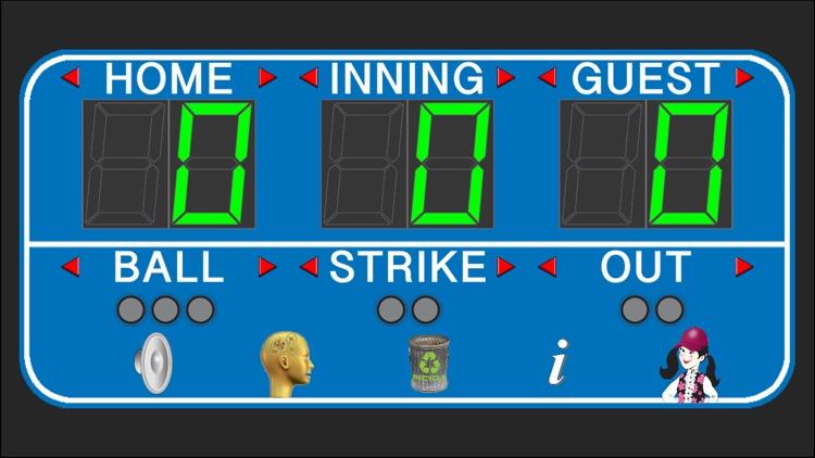 Baseball Scoreboard Deluxe