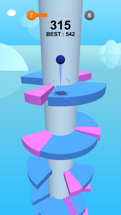 Jump Ball-Bounce On Tower Tile screenshot #4