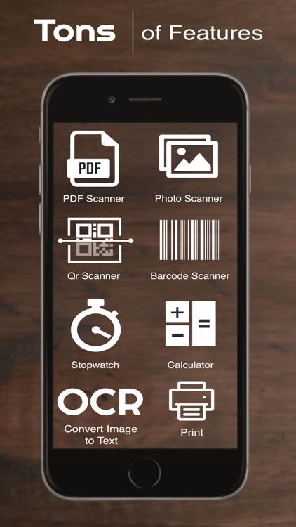 Scan - PDF,Photo,QR & Barcode
