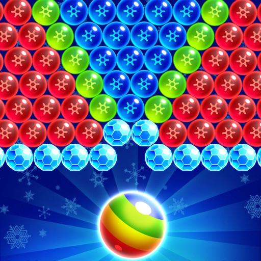 Frozen Pop Bubble-Shooter Game