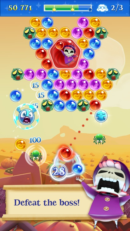 Bubble Witch 2 Saga screenshot-1