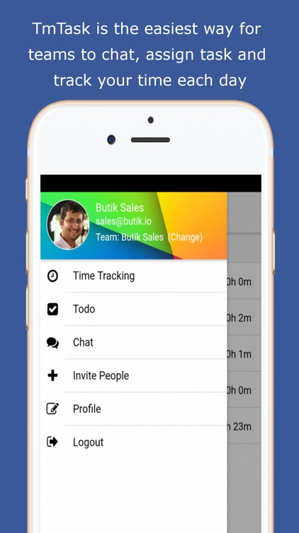 To-do, Time Tracking & Chat screenshot-3