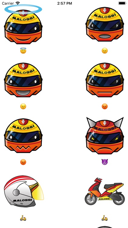 Malossi Emoji screenshot-3
