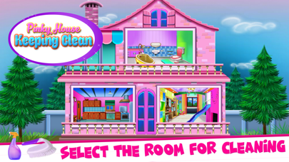Pinky House Keeping Clean Screenshot
