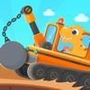 恐龙挖掘机3 - 工程车总动员儿童益智游戏