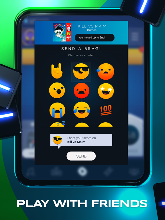 Beatstar iPad app afbeelding 6