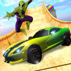 Mega Ramp Car Driving Game 3D