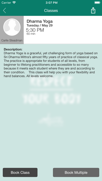 Dragonfly Yoga Studio Brockley screenshot four