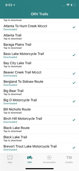 Michigan Offroad Trail Map On The App Store