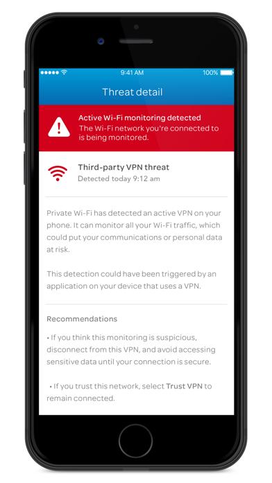 Private Wi-Fi screenshot 2