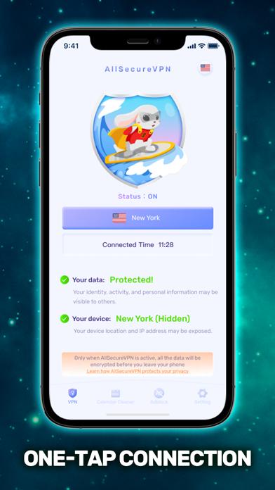 All Secure VPN & WiFi Proxy Screenshot