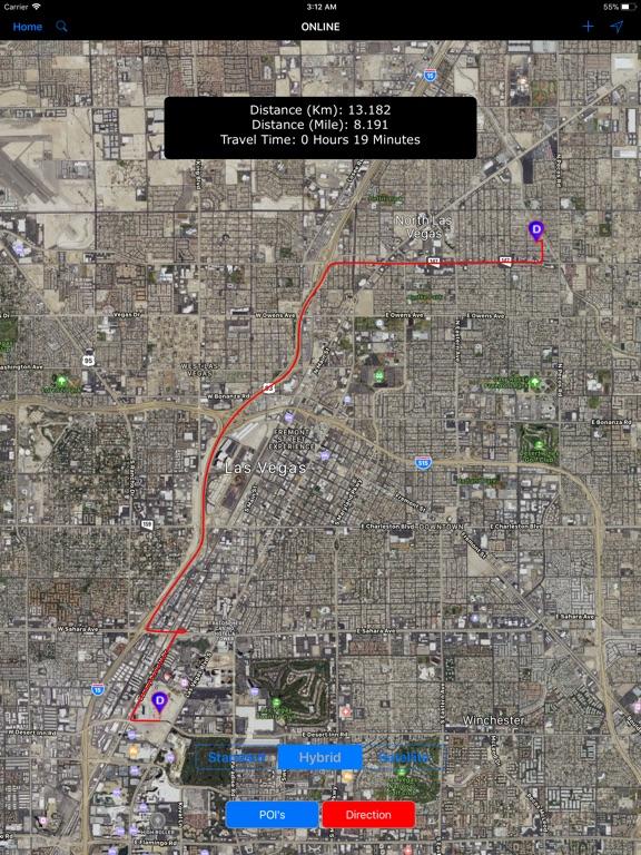 Las Vegas Nevada – City Map