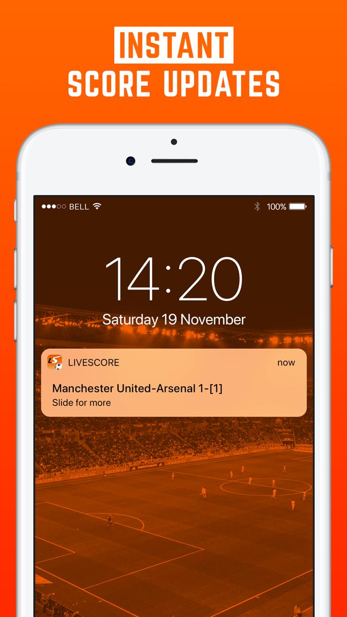LiveScore: Live Sport Updates Screenshot