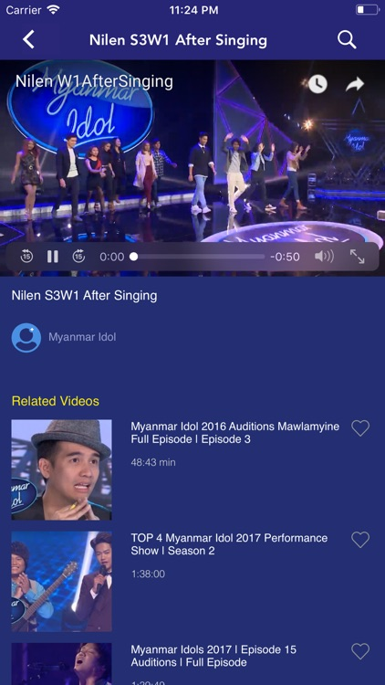 MNTV Myanmar Idol by Mandalay Yoma Company Ltd