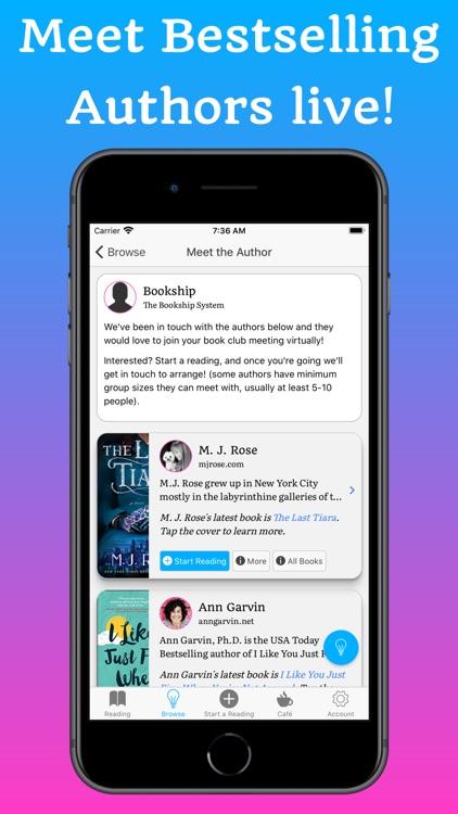 Bookship - A Virtual Book Club screenshot-3
