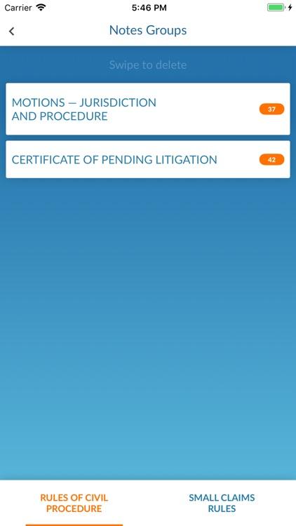 Ontario Court Rules screenshot-4