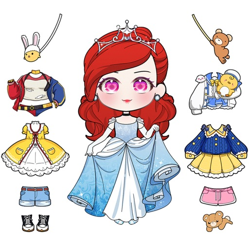 Dress Up Donna Doll free software for iPhone and iPad