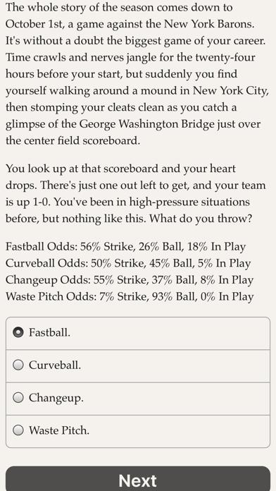 The Fielder's Choice screenshot two