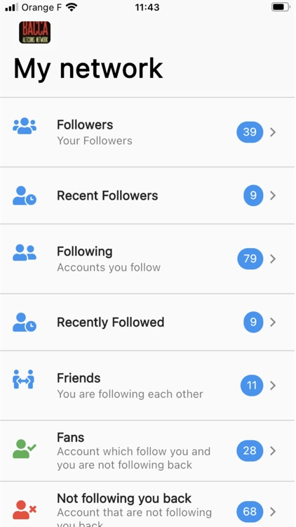 Stats + for Twitter - Unfollow