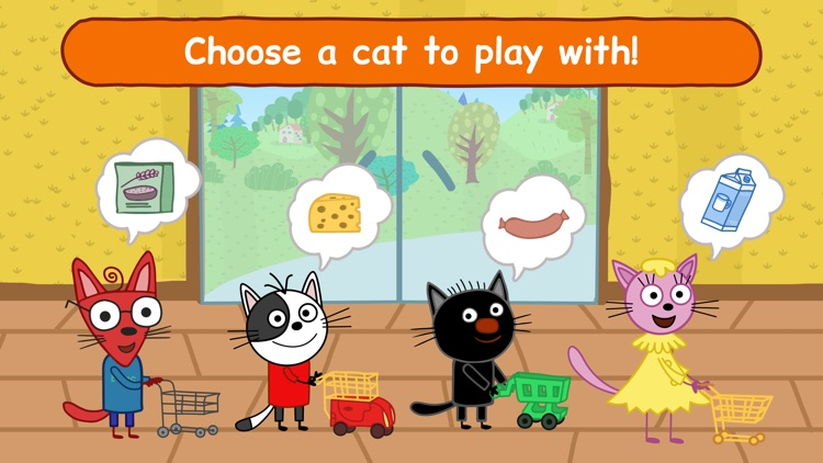 Kid-E-Cats: Supermarket Game! screenshot-4