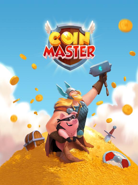 Coin Master iPad app afbeelding 1