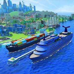 Sea Port: Ship Tycoon Games