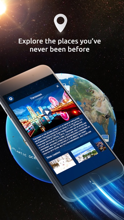 Globe Geography 3D VR