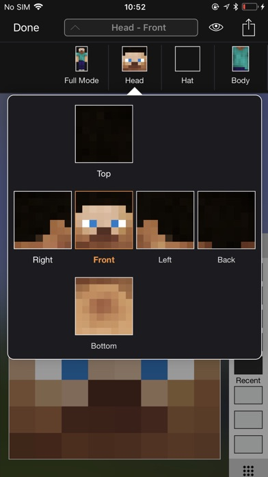Screenshot #7 for Minecraft: Skin Studio