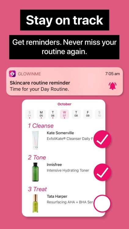 GlowinMe: Beauty Tracker screenshot-3