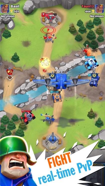 Warhands・Royale PvP clash deck screenshot-0