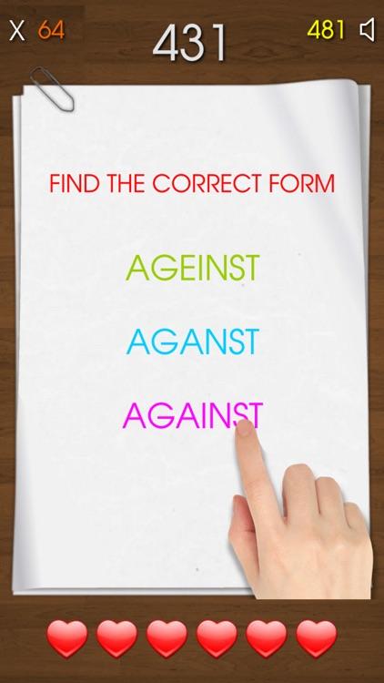 Spelling Test - Learn To Spell